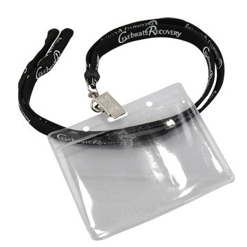 Celebrate Recovery Lanyard (1 Lanyard With Nametag Holder)