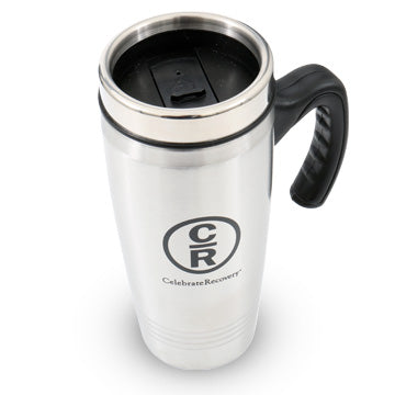 Celebrate Recovery Stainless Steel Travel Mug