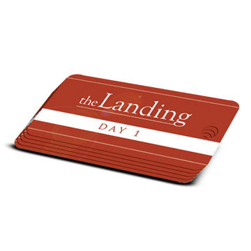 The Landing - Day 1 Milestone Marker (5 Pack)