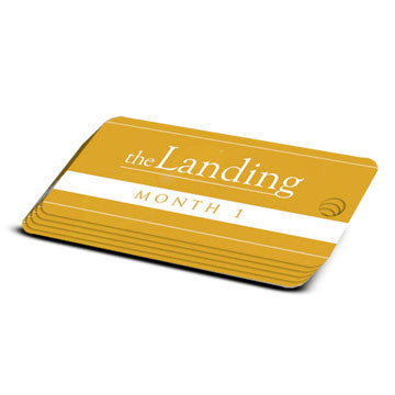 The Landing - Month 1 Milestone Marker (5 Pack)