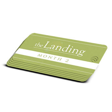 The Landing - Month 2 Milestone Marker (5 Pack)