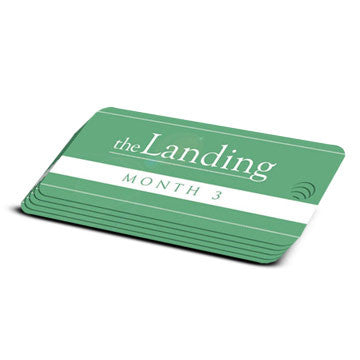 The Landing - Month 3 Milestone Marker (5 Pack)