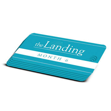 The Landing - Month 6 Milestone Marker (5 Pack)