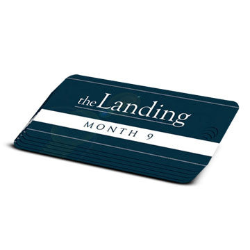 The Landing - Month 9 Milestone Marker (5 Pack)