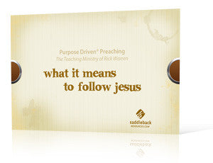 What It Means to Follow Jesus