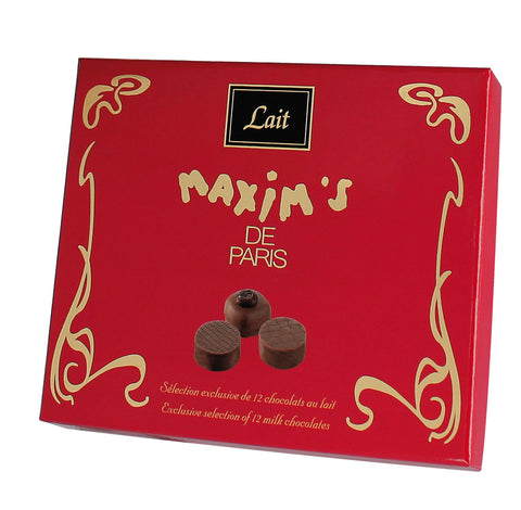 Maxim's de Paris Milk Chocolates Connoisseurs Assortment - 120g