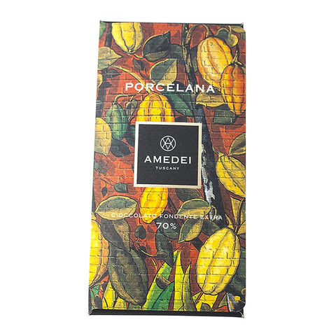 Amedei Gourmet Chocolate Bar - Porcelana 70% Cocoa - 50g