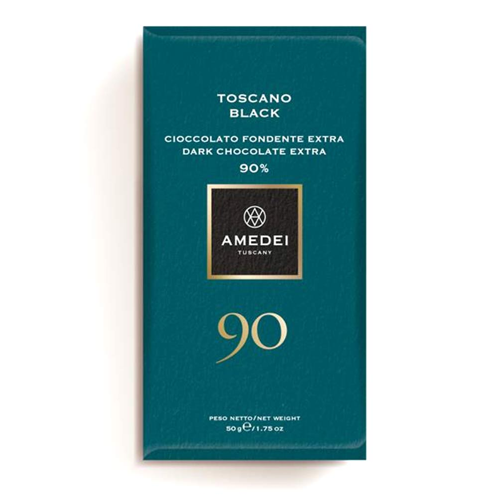Amedei Gourmet Chocolate Bar - Toscano Black 90% - 50g - Gourmet Boutique
