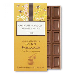 ARTISAN DU CHOCOLATE SALTED HONEYCOMB 41%