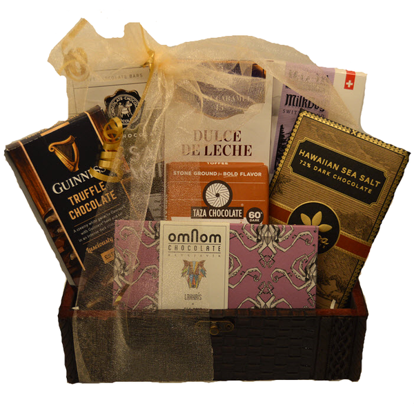 Sweet and Salty Celebration Gift Trunk - Gourmet Boutique