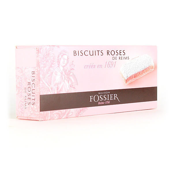 Fossier Pink Champagne Biscuits - Gourmet Boutique