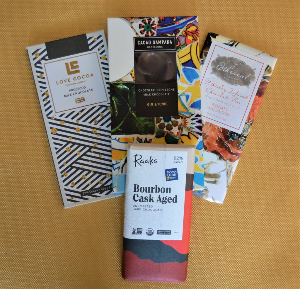 Boozy Virtual Chocolate Tasting Kit for VIRTUAL TASTING ON 4/11/2020 at 5PM - Gourmet Boutique