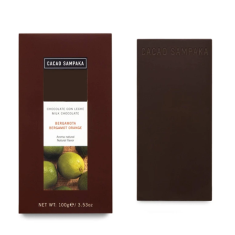 Cacao Sampaka Bergamot Orange Chocolate Bar