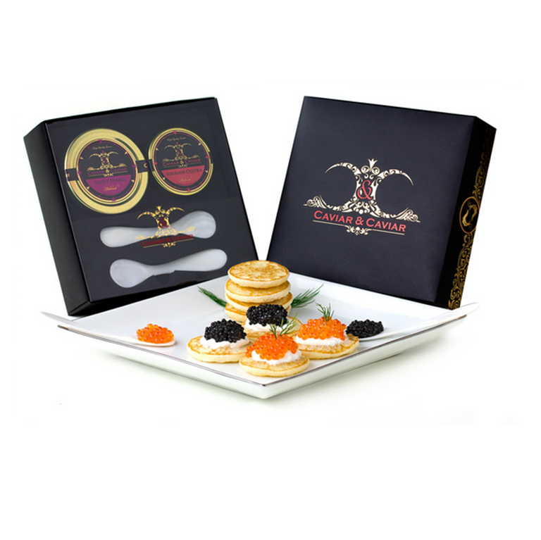 The Connoisseur Caviar Gift Set - Gourmet Boutique