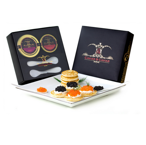 Caviar - Imported Farmed Golden Osetra
