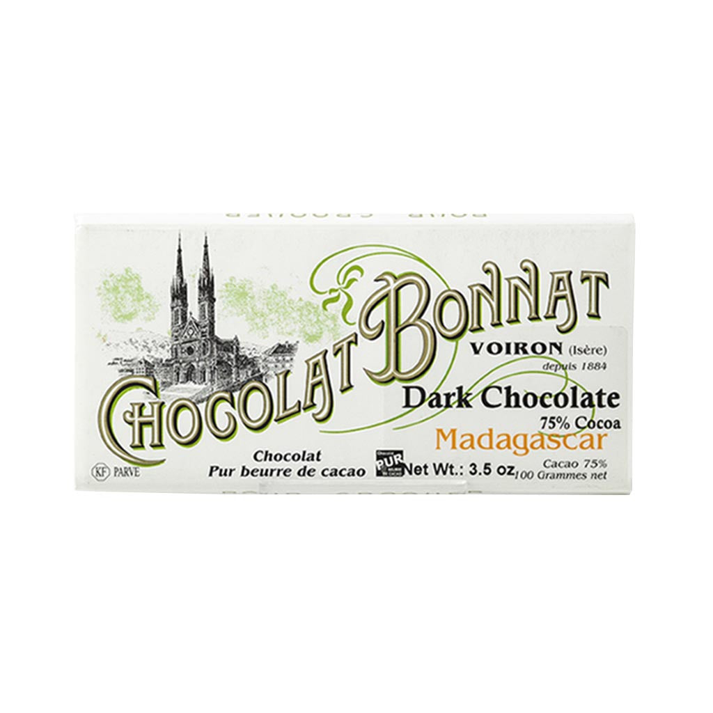 Chocolat Bonnat Gourmet Chocolate Bar - Madagascar 75% Cocoa - 100g - Gourmet Boutique