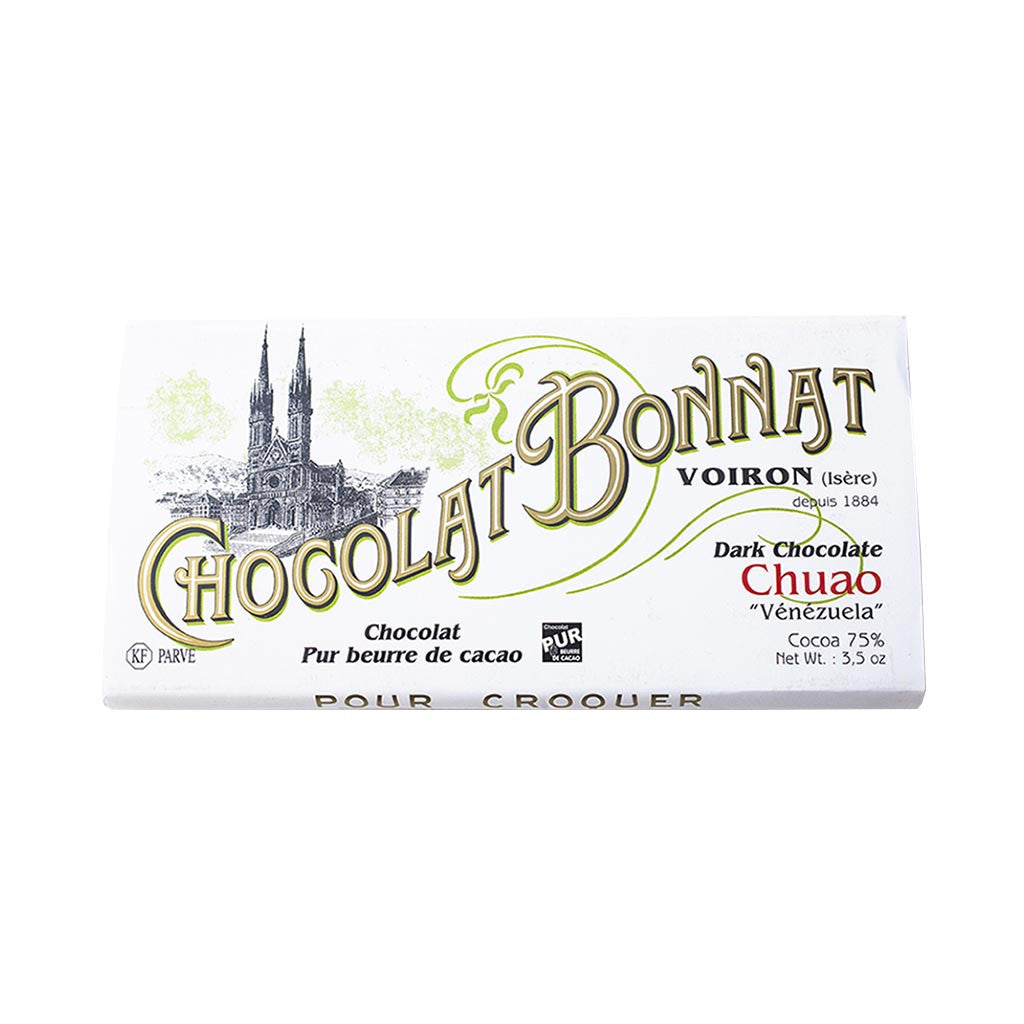 Chocolat Bonnat Gourmet Chocolate Bar - Chuao 75% Cocoa - Venezuela - 100g - Gourmet Boutique