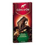 Cote d'Or Chocolate of Belgium - Block Dark Chocolate with Almonds - 200g