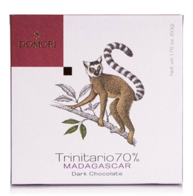 Domori Chocolate of Italy - Trinitario 70% Madagascar - Gourmet Boutique