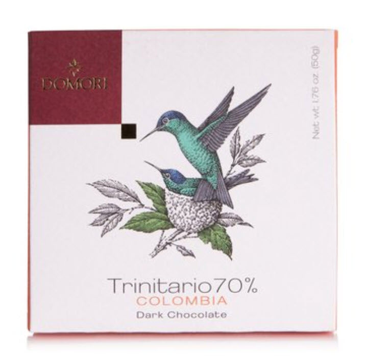 Domori Chocolate of Italy - Trinitario 70% Colombia - Gourmet Boutique