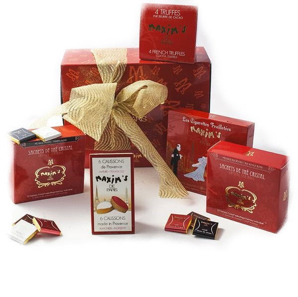 Parisian Tea Time Gift Box - Gourmet Boutique