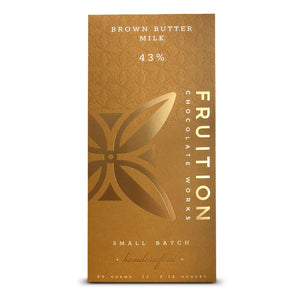FRUITION, BROWNED BUTTER MILK CHOCOLATE 43%