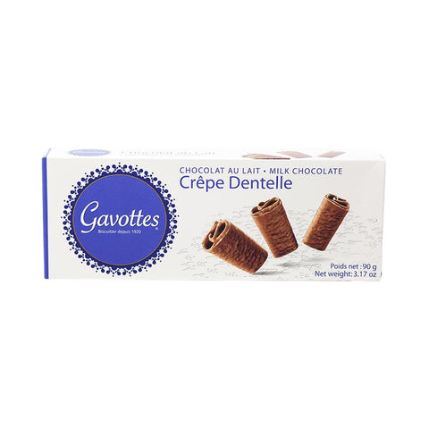 Gavottes Milk Chocolate Crepe Dentelles