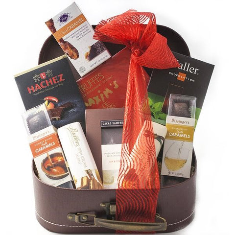 Chocolate and Wine Lovers Pairing Gift Box