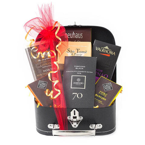 Around the World Chocolate Gift Trunk