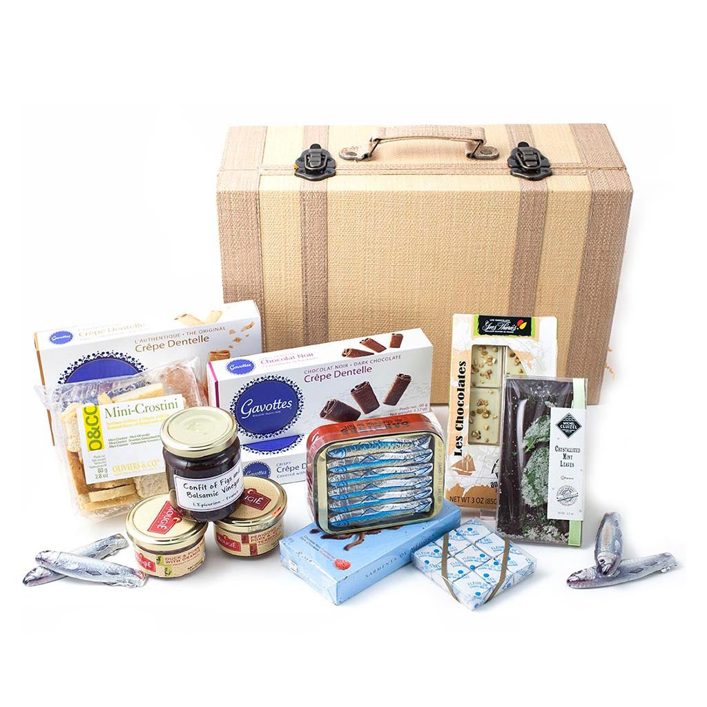 From Paris with Love Gift Trunk - Gourmet Boutique