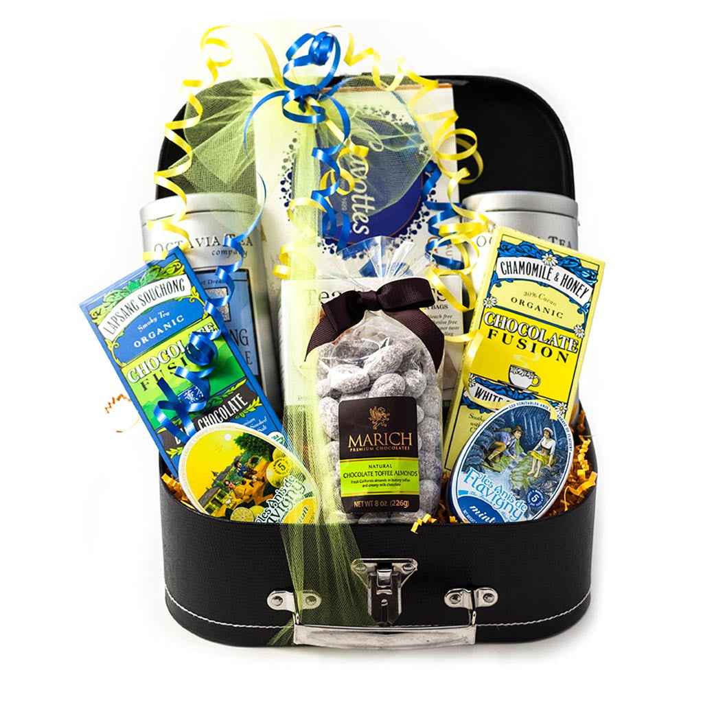 High Tea Gift Trunk - Gourmet Boutique