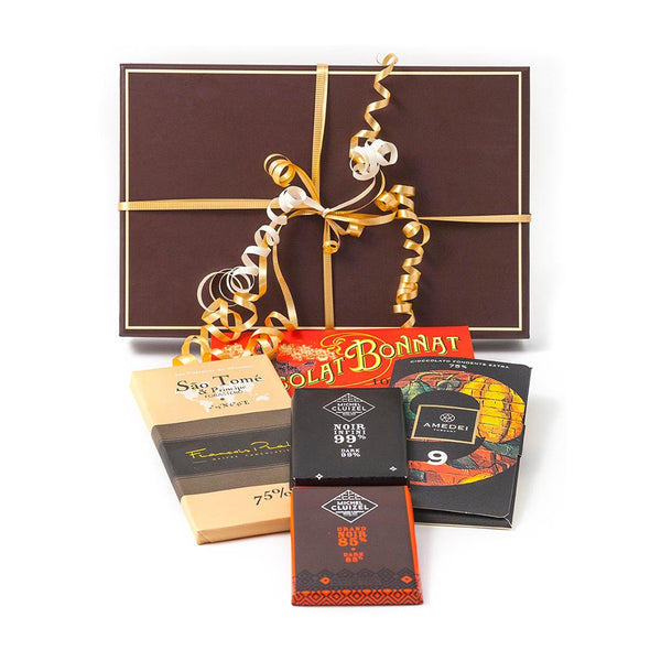 Deep Dark Chocolate Assortment Gift Box - Gourmet Boutique