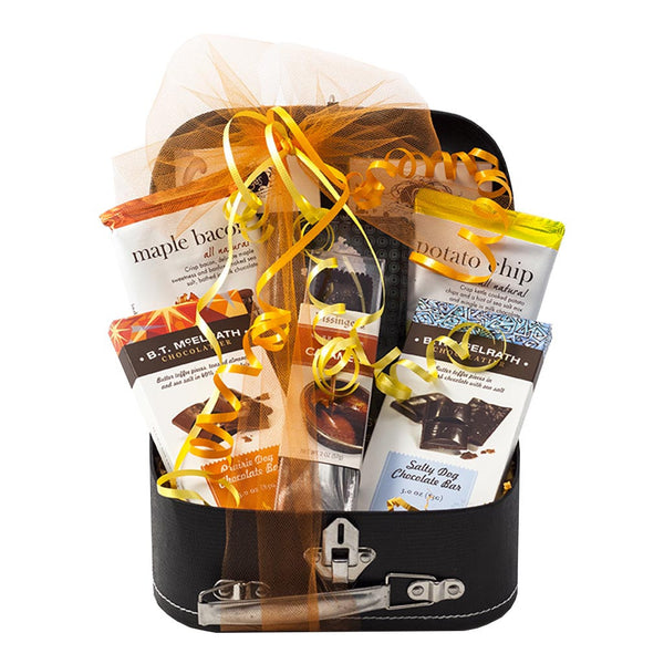 Smokey and Salty Craft Chocolates Gift Trunk - Gourmet Boutique