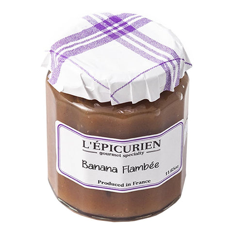 L'Epicurien Banana Flambee Jam