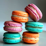 Large Best of Macaron Assortment Box Tower (24 Pc) - Gourmet Boutique