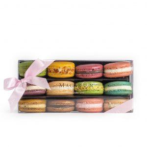 Medium Best of Macaron Assortment Box (12 Pc) - Gourmet Boutique
