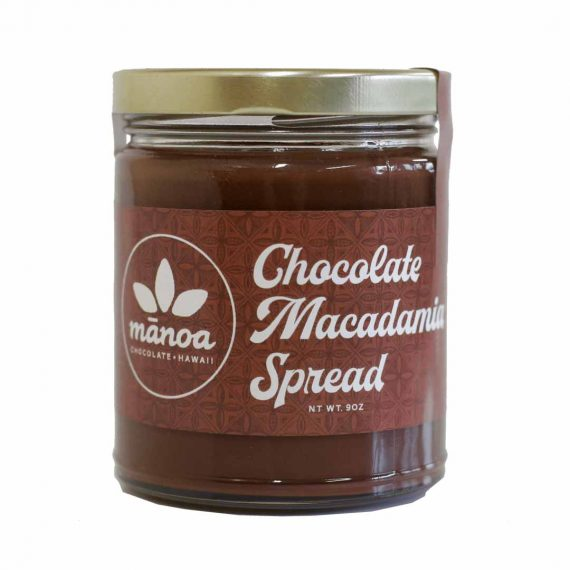 MANOA CHOCOLATE MACADAMIA NUT SPREAD
