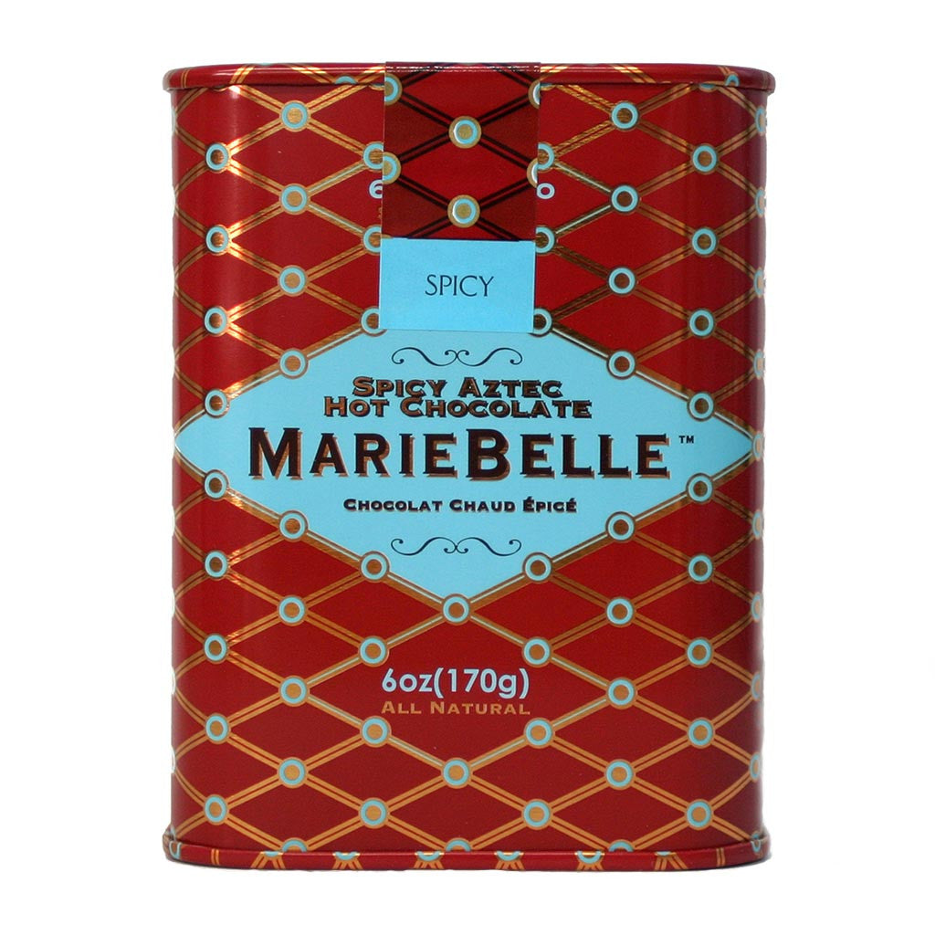 Mariebelle Spicy Hot Chocolate Tin 6 oz - Gourmet Boutique