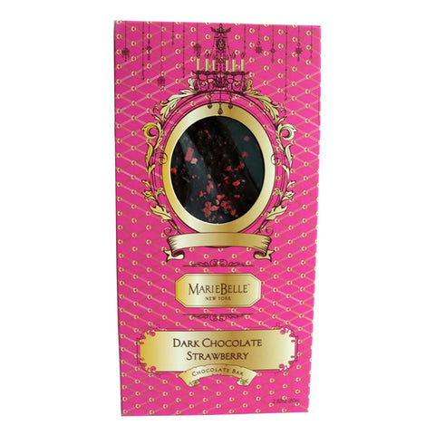 Mariebelle Strawberry Dark Chocolate Bar