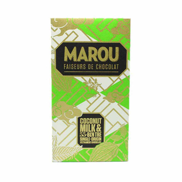 MAROU COCONUT MILK & BEN TRE 55% ORIGIN PLUS BAR
