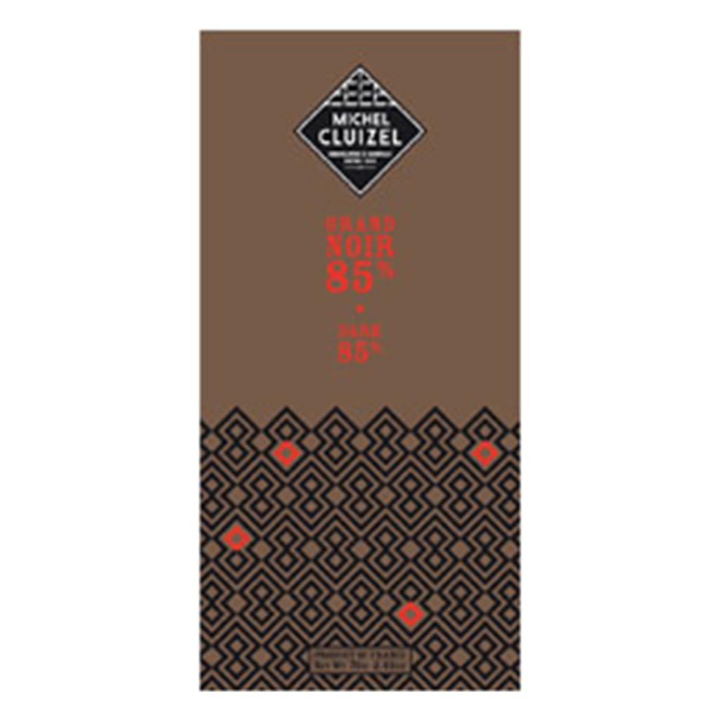 Michel Cluizel - Crus de Plantation Chocolate Bar - Grand Noir 85% Cocoa - Gourmet Boutique
