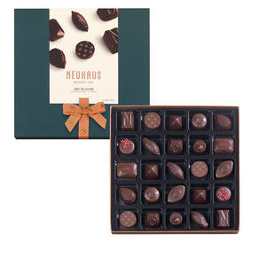 Neuhaus Dark Chocolate Assortment - 25 piece box - Gourmet Boutique