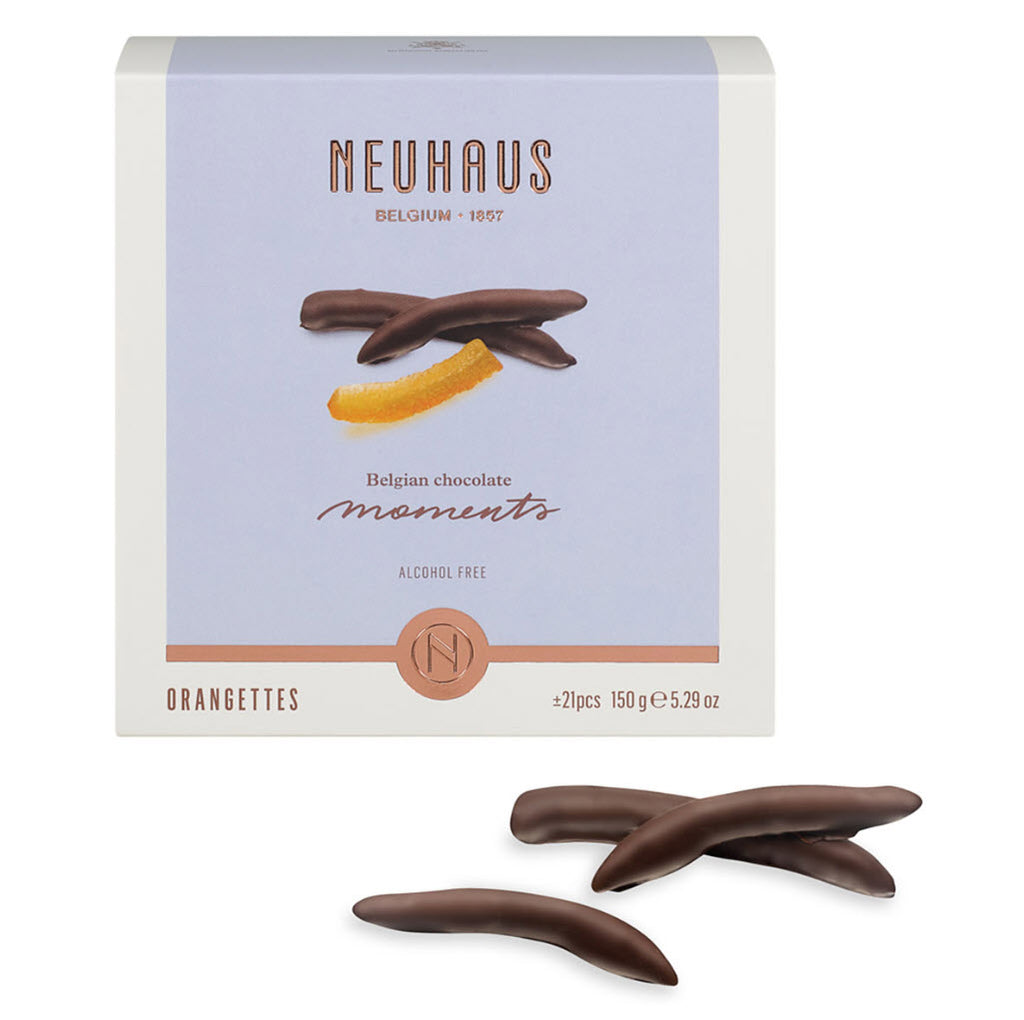 Neuhaus Moments Orange Peels (Orangettes) - 3 Boxes Gift (450G) - Gourmet Boutique