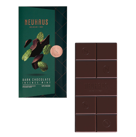 Neuhaus Tablet Dark Chocolate Mint, 100g