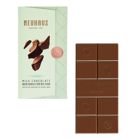 Neuhaus Tablet Milk Chocolate 32% Cocoa, 100g