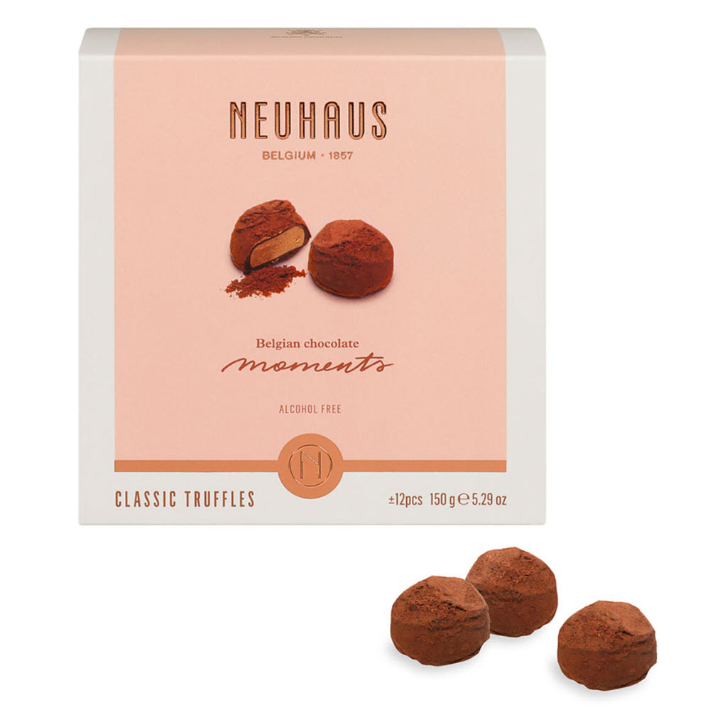Neuhaus Moments Classic Truffles Collections - 36 piece box (3 units Gift Wrapped) - Gourmet Boutique