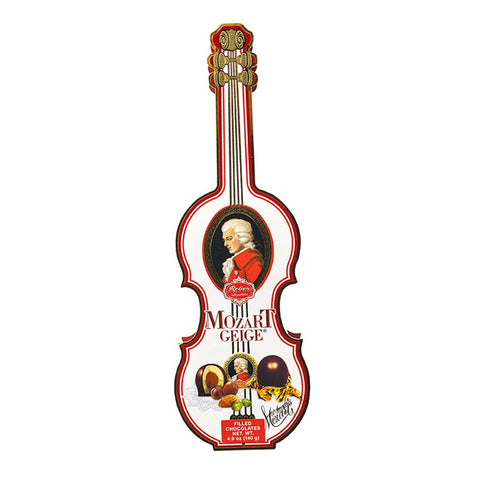 Reber Mozart Gourmet Chocolate - Mozart Violin 7 Piece Box