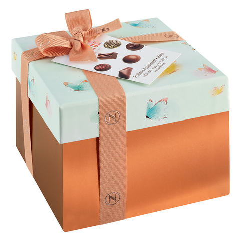 Spring Chocolate Ribbon Gift Box by Neuhaus, 8 pcs