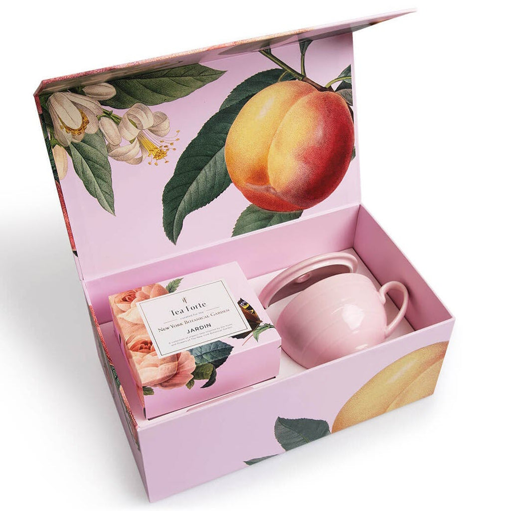 Tea Forte - Jardin Gift Set With Gift Box - Gourmet Boutique