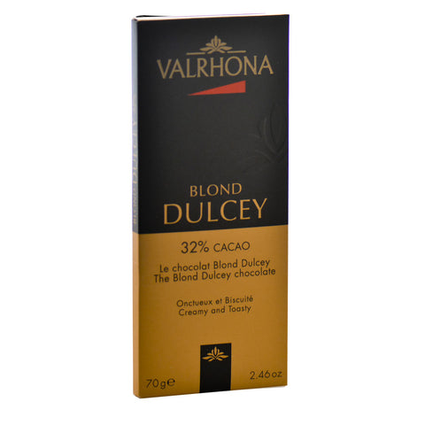 VALRHONA DULCEY BLOND CHOCOLATE BAR